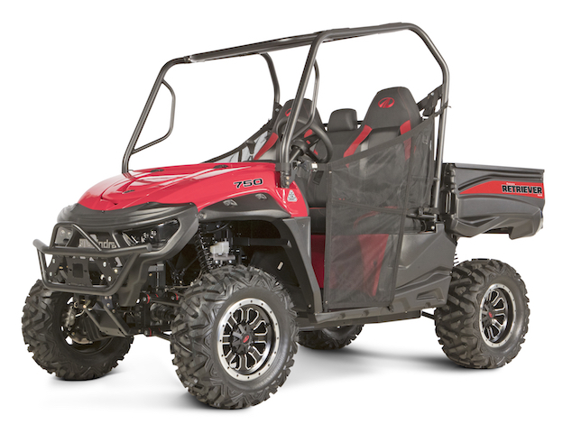 Mahindra retriever utility vehicles illinois indiana for Motor warranty services of north america